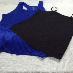 Just be sport shirt and camisole 2X